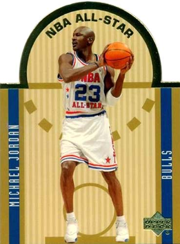 03-04 Upper Deck Michael Jordan Die Cut All Star