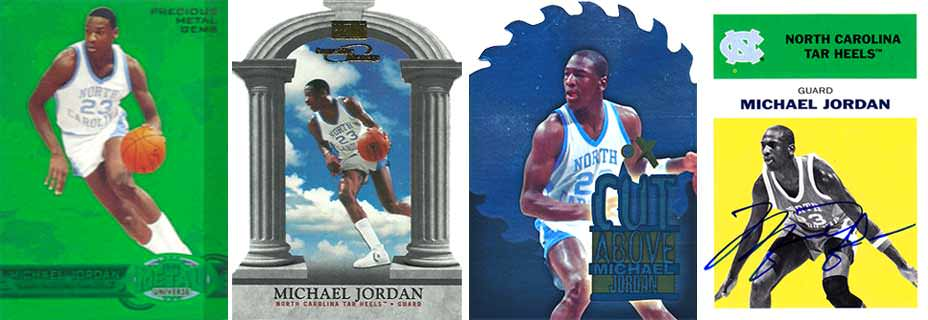 Michael Jordan Fleer Retro Inserts