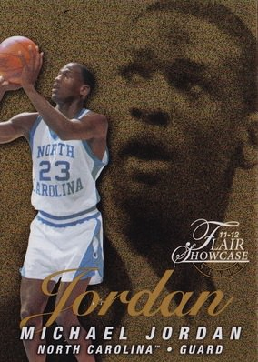 11-12 Michael Jordan Showcase Row 0 Retro