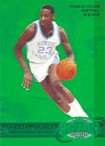 11-12 Michael Jordan PMG Green Fleer Retro