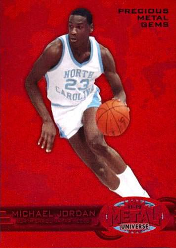 11-12 Michael Jordan PMG Red Fleer Retro