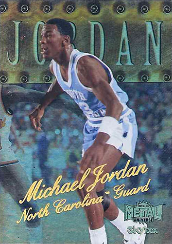 12-13 Michael Jordan PMG Fleer Retro