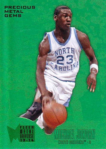13-14 Michael Jordan PMG Green Fleer Retro