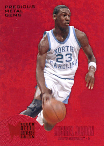 13-14 Michael Jordan PMG Red Fleer Retro