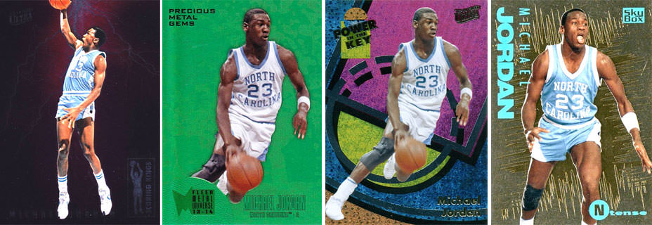 2013-14 Michael Jordan Fleer Retro Inserts