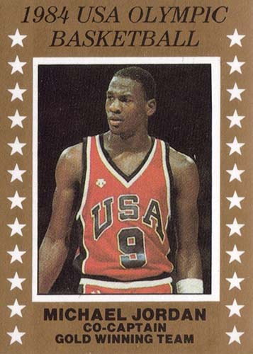 84 Michael Jordan USA Olympic