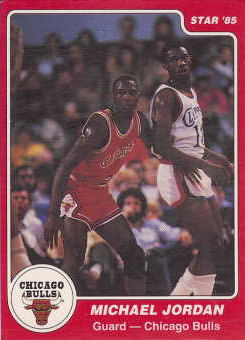 85 Michael Jordan Star Co Unknown