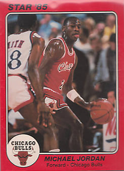 85 Michael Jordan Star Co Supers