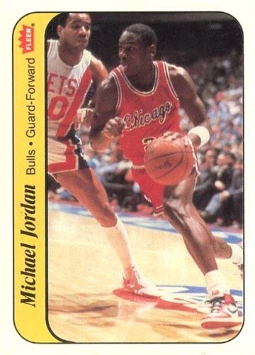 86-87 Michael Jordan Fleer Sticker