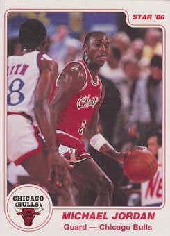86 Michael Jordan Star Co Unknown