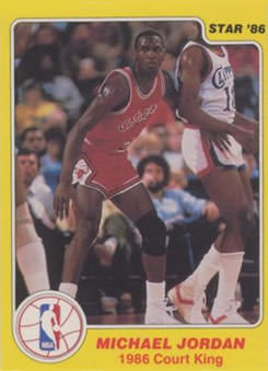 86 Michael Jordan Star Co Court King
