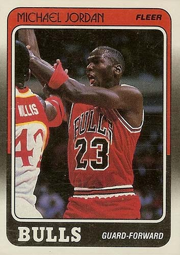 87-88 Michael Jordan Fleer 3rd Year
