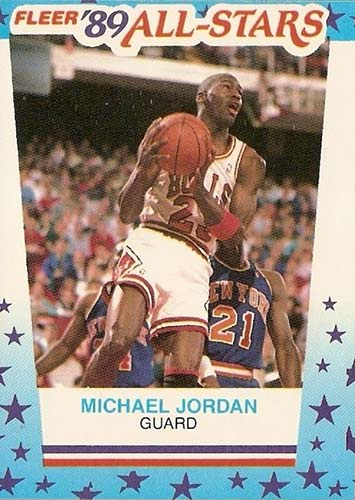 89-90 Michael Jordan Fleer Sticker