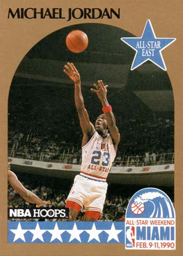 90-91 Michael Jordan Hoops All-Star