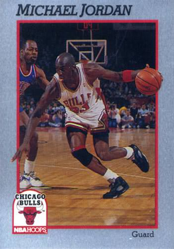 91 Michael Jordan Hoops Prototype Metal