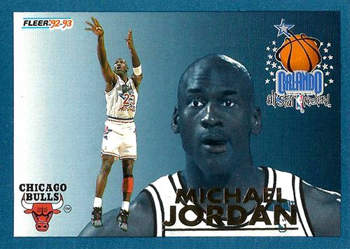 92-93 Michael Jordan All Star Fleer