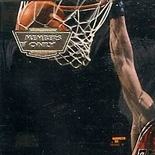 93-94 Michael Jordan Beam Team Members Only Error Close Up