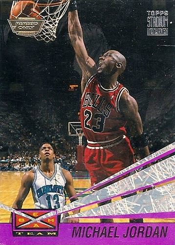 93-94 Michael Jordan Beam Team Members Only Error