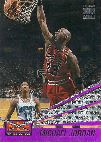 93-94 Michael Jordan Beam Team Members Only
