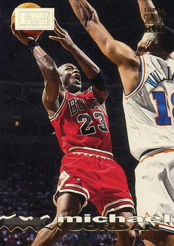 93-94 Michael Jordan First Day Issue