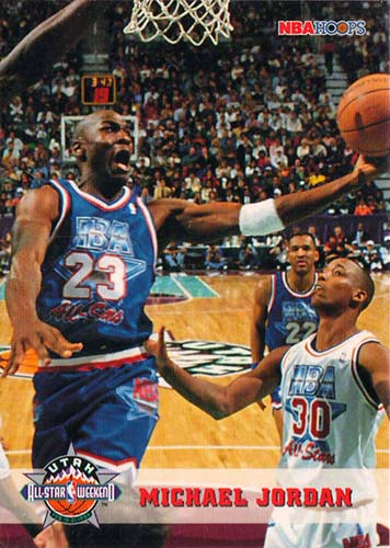 93-94 Michael Jordan Hoops All-Star