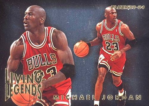 93-94 Michael Jordan Living Legends Fleer