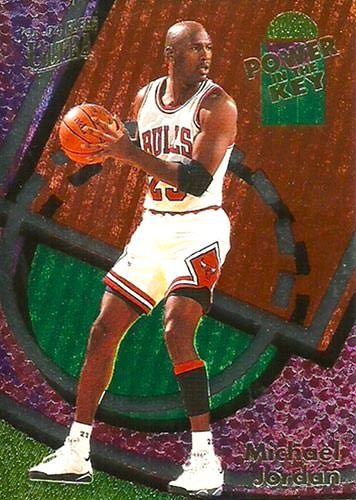 93-94 Michael Jordan Fleer Ultra Power in the Key