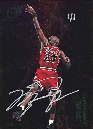 93-94 Michael Jordan Fleer Ultra Scoring Kings Buy Back Autograph