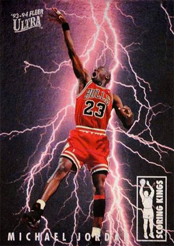 93-94 Michael Jordan Scoring Kings Fleer Ultra
