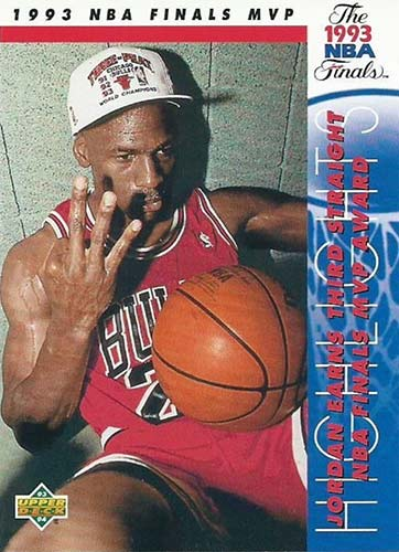 93-94 Michael Jordan Upper Deck Finals