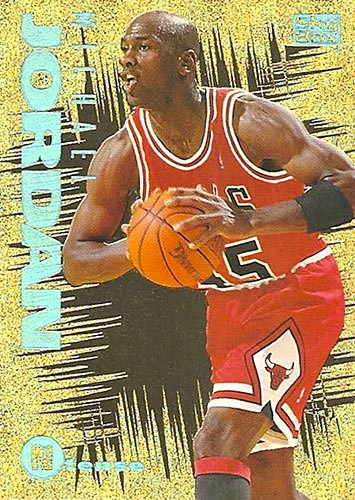 94-95 Michael Jordan N-Tense Skybox Emotion
