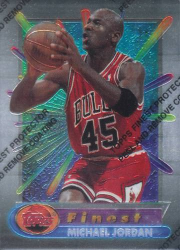 94-95 Michael Jordan Topps Finest base