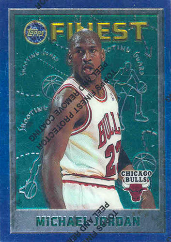 95-96 Michael Jordan Topps Finest Base