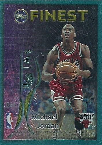 95-96 Michael Jordan Topps Finest Dish and Swish