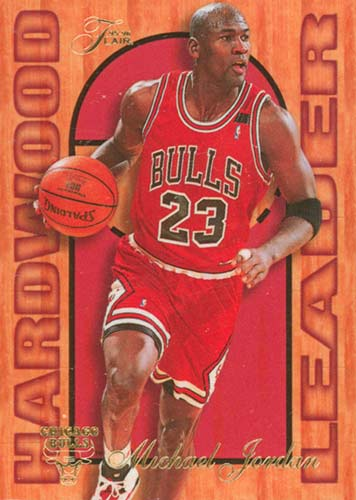 95-96 Michael Jordan Flair Hardwood Leader