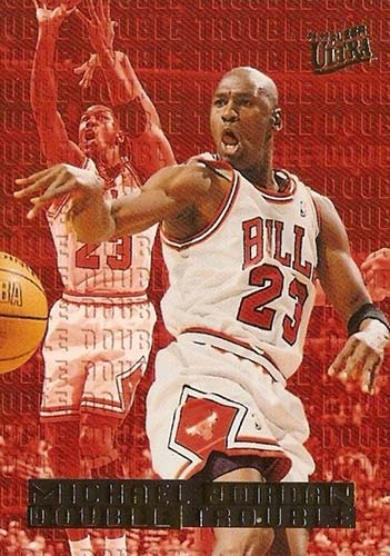 95-96 Michael Jordan Fleer Ultra Double Trouble