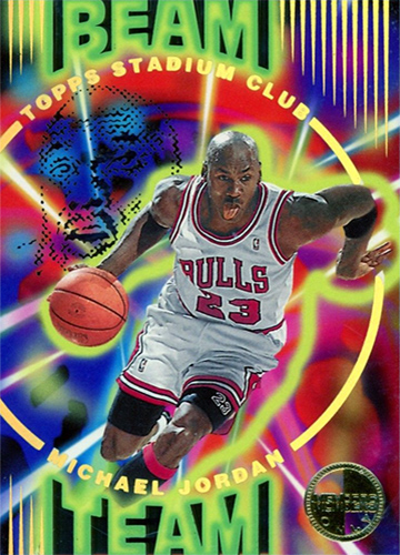 95-96 Michael Jordan Beam Team Members Only