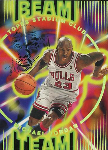 95-96 Michael Jordan Beam Team