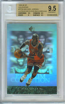 95-96 SP Holoviews McDyess Background BGS 9.5