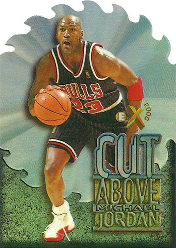 96-97 Michael Jordan A Cut Above E-X 2000