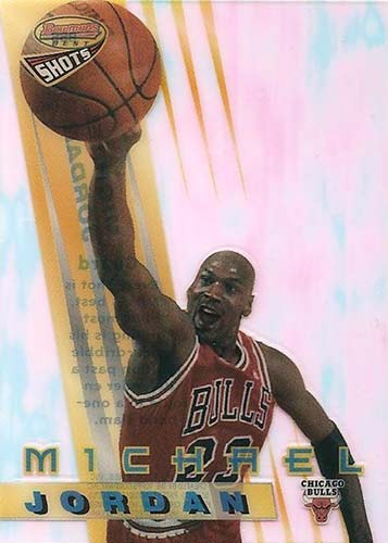 96-97 Michael Jordan Bowman's Best Shots