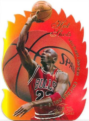 96-97 Flair Michael Jordan Hot Shots