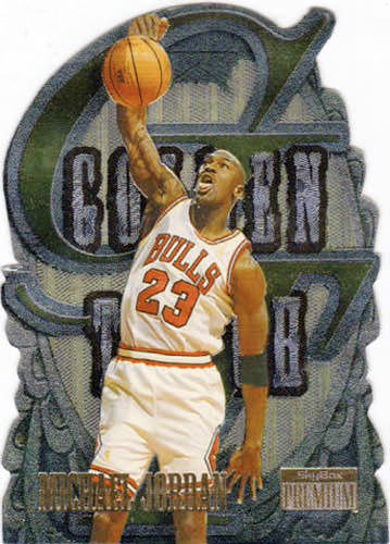 96-97 Michael Jordan Golden Touch Skybox