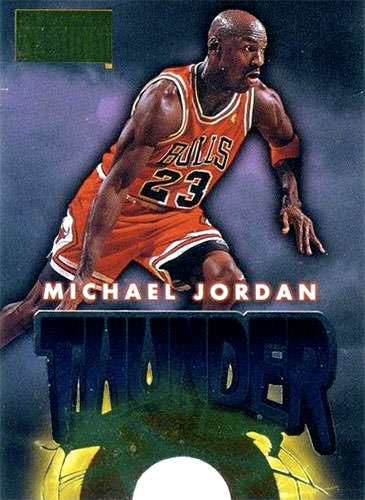 96-97 Michael Jordan Thunder and Lightning Skybox