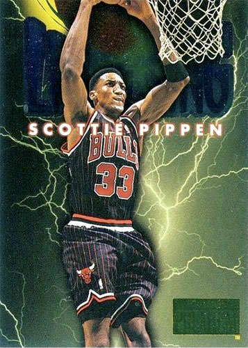 96-97 Scottie Pippen Thunder and Lightning Skybox