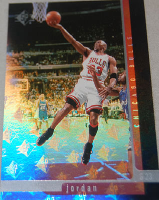 96-97 Michael Jordan SP #16 with extended holographic effect