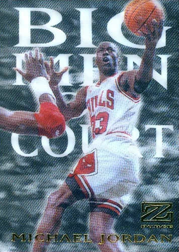 97-98 Michael Jordan Big Men On Court Skybox Z-Force
