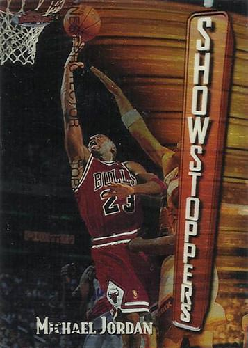 97-98 Michael Jordan Topps Finest Base Showstoppers