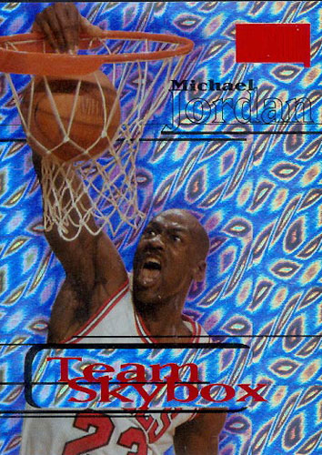 97-98 Michael Jordan Star Rubies Team Skybox