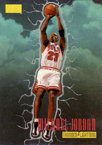 97-98 Michael Jordan Thunder and Lightning
